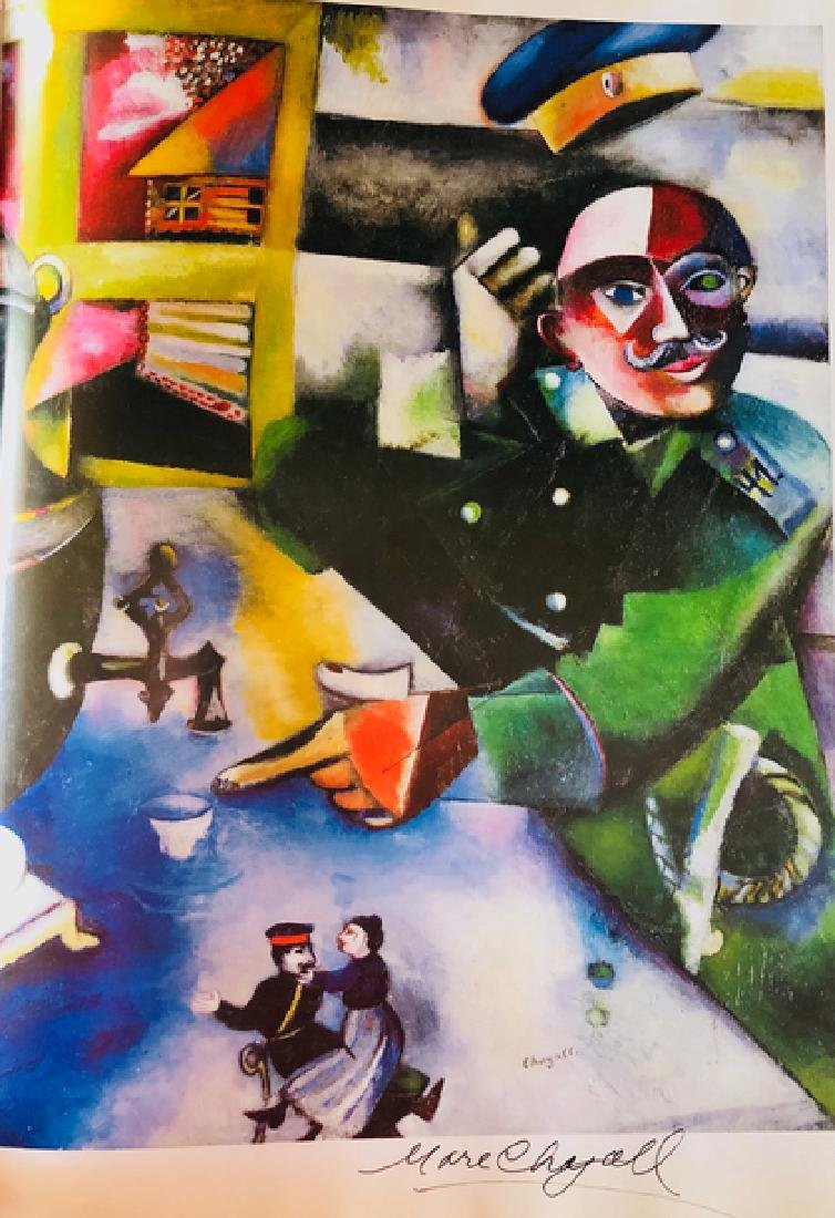 THE SOLDIER DRINKS- Marc Chagall - 2