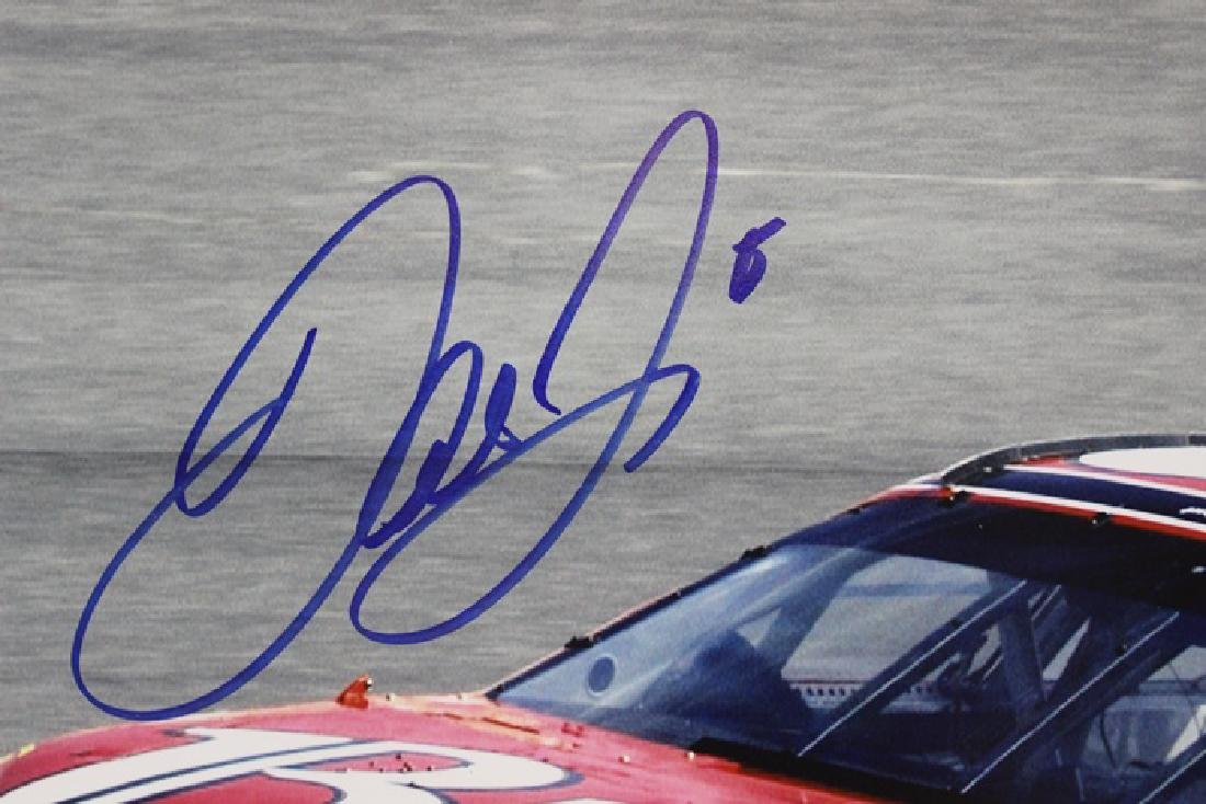 Authentic Autographed Dale Earnhardt Jr - 2