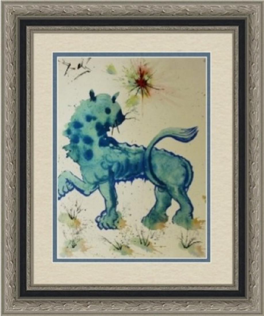 Leo, Zodiac Suite - Salvador Dali