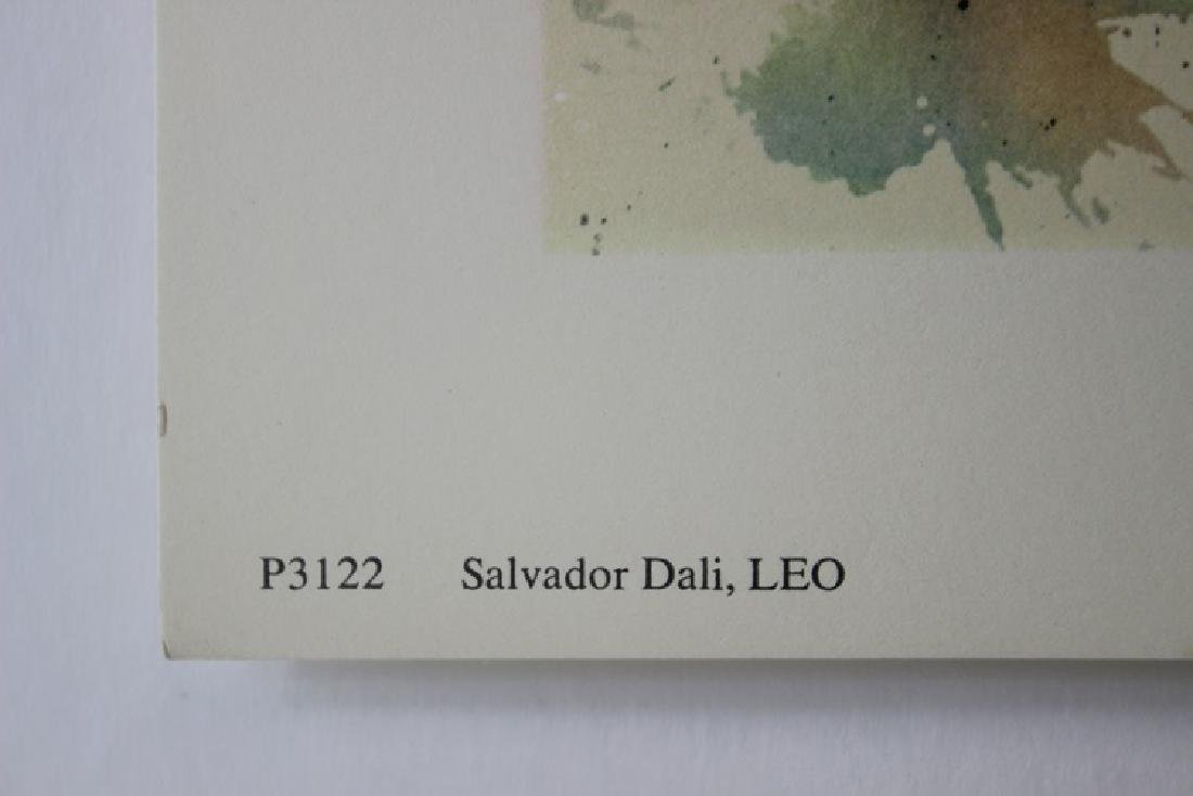 Leo, Zodiac Suite - Salvador Dali - 4