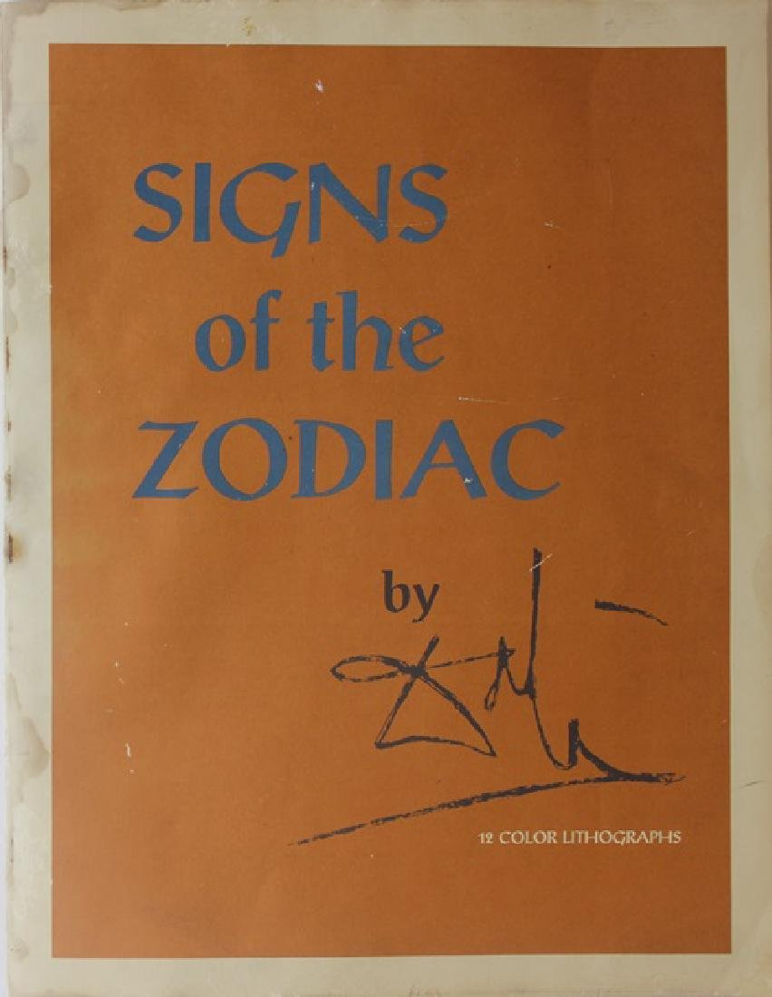 Leo, Zodiac Suite - Salvador Dali - 7