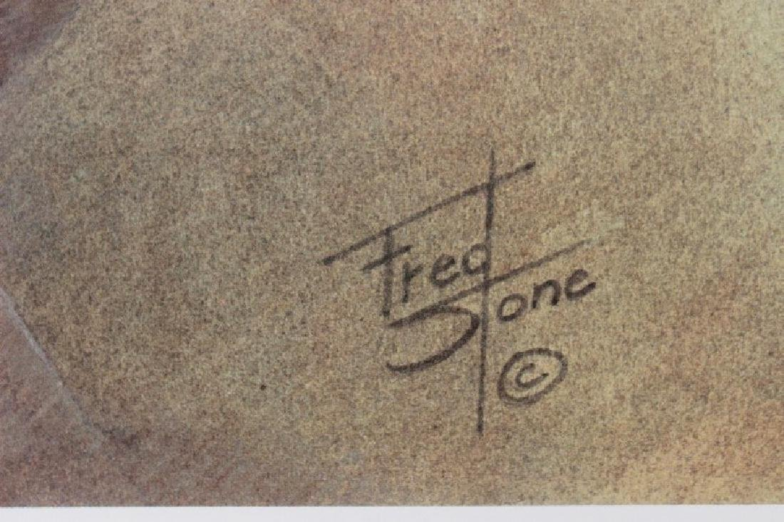 Lester Piggott by Fred Stone - 4