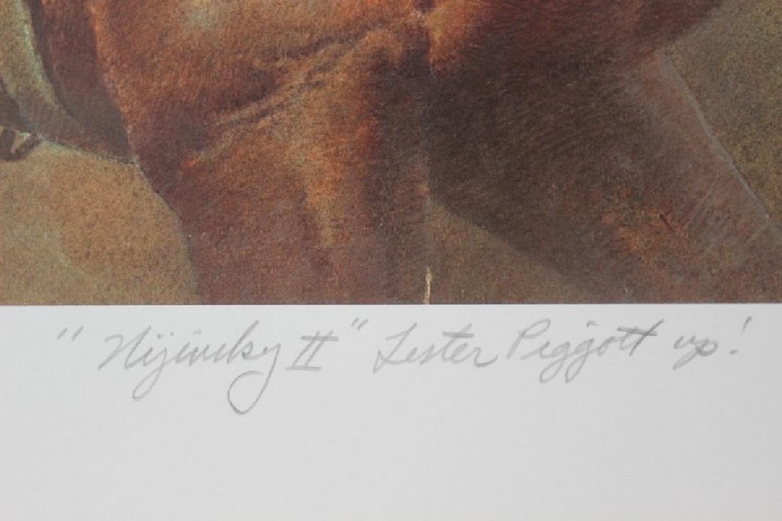 Lester Piggott by Fred Stone - 5