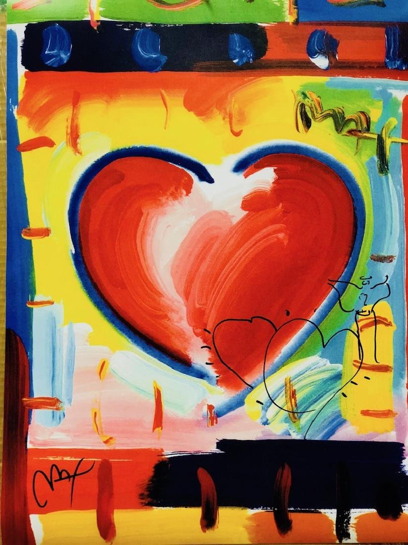 Signed Peter Max Mixed Media - 2