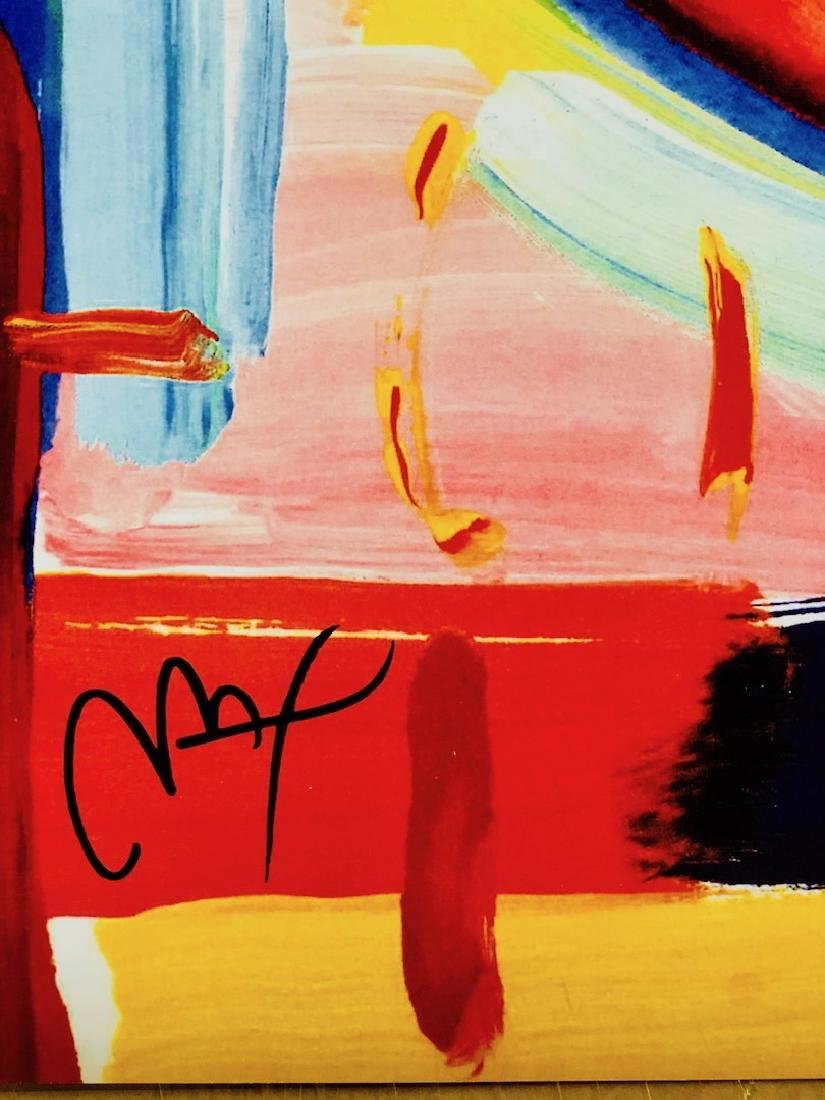 Signed Peter Max Mixed Media - 3