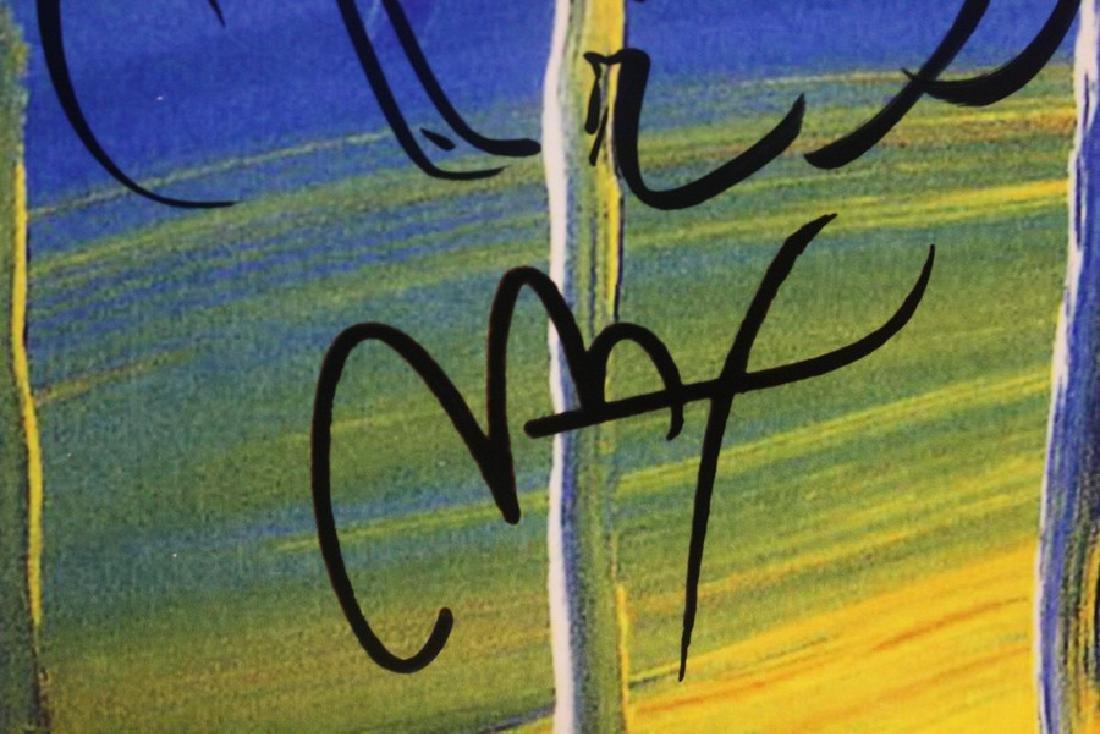 Hand Signed Peter Max Mixed Media - Man - 4