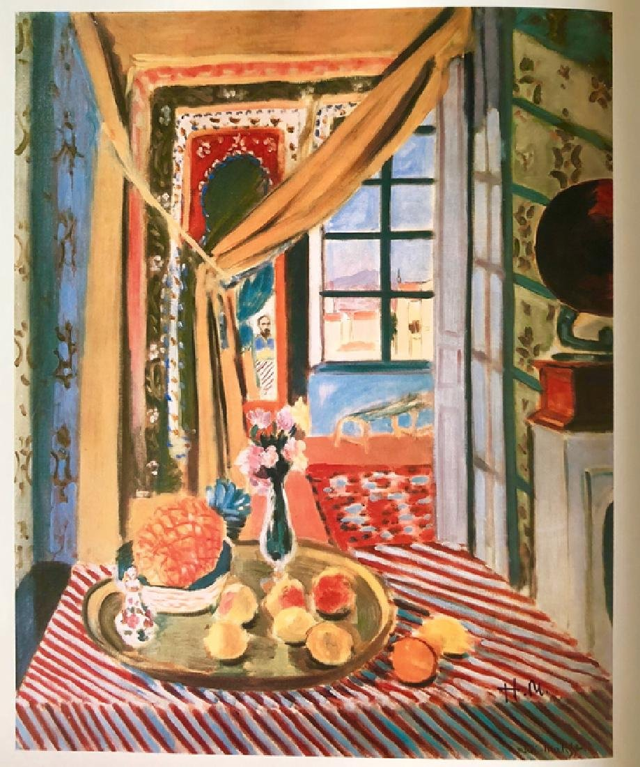 """""""Interior with a Phonograph"""" by Henri Matisse - 2"""