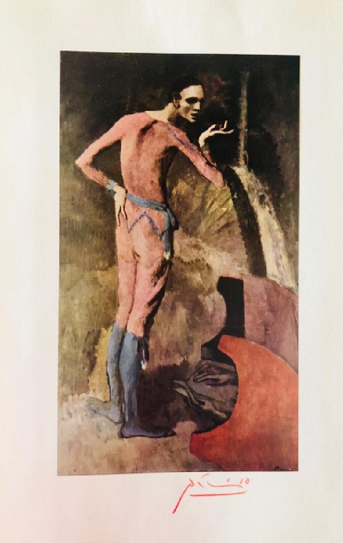 The Actor by Pablo Picasso 1904' - 2