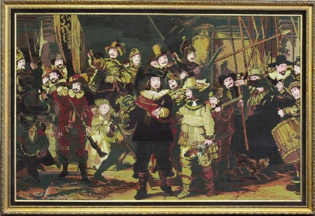 Night Watch - Tapestry After Rembrandt