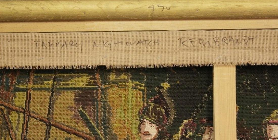 Night Watch - Tapestry After Rembrandt - 3