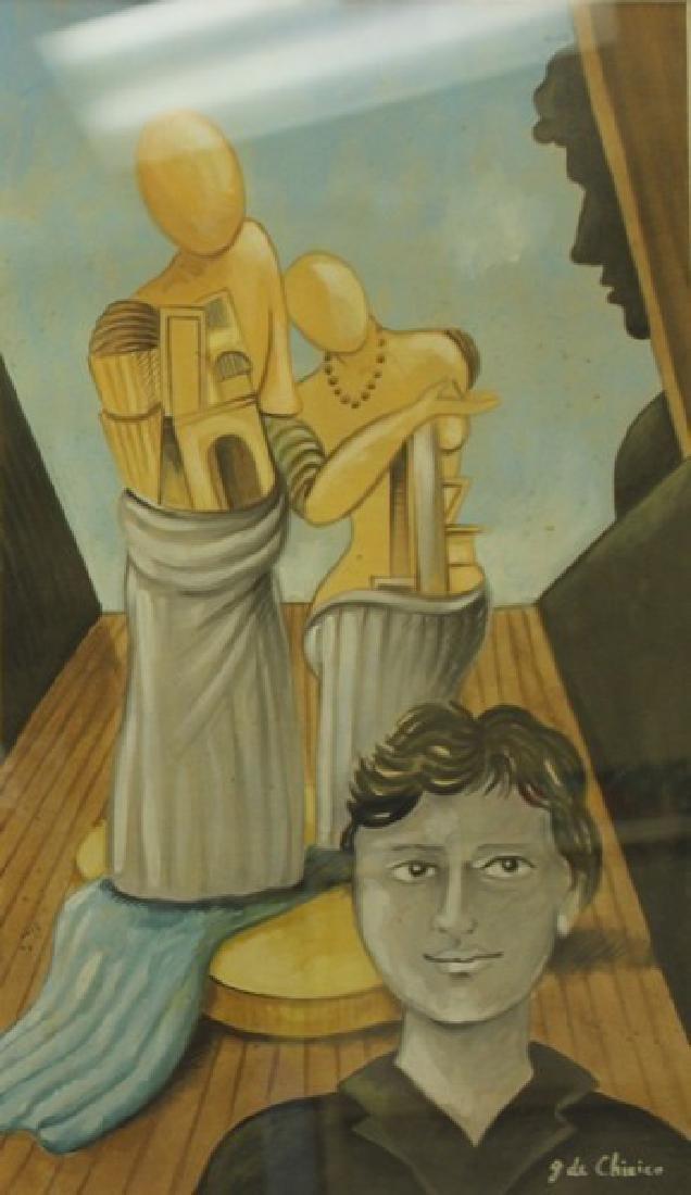 Oil Painting - Giorgio de Chirico - 3