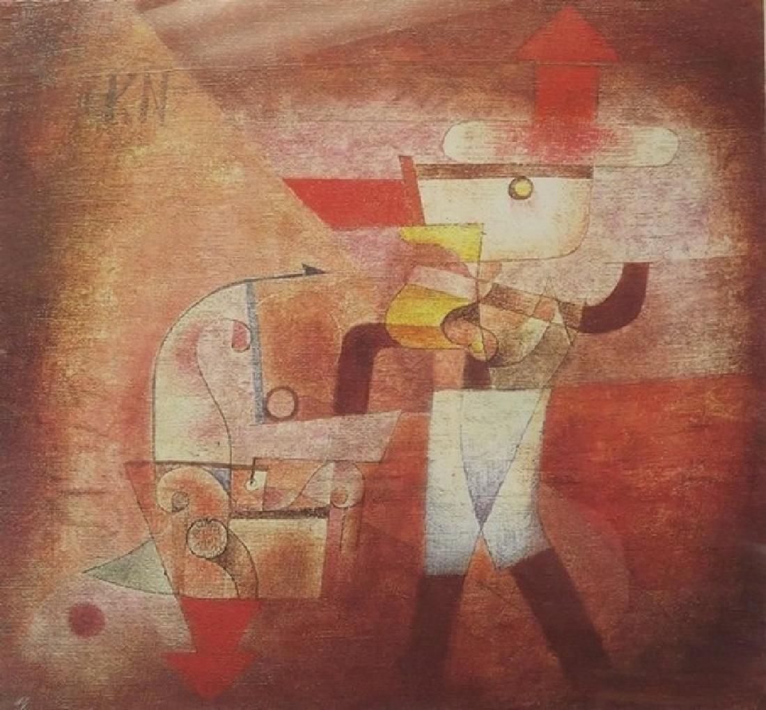 The Blacksmith 1922' - Paul Klee - 2