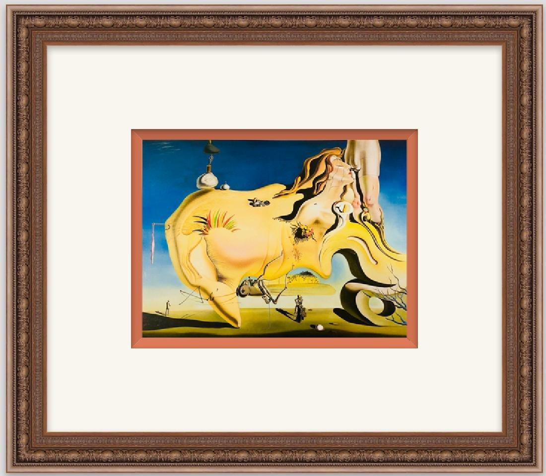 """Salvador Dali """"The Great Masturbator"""" Lithograph"""