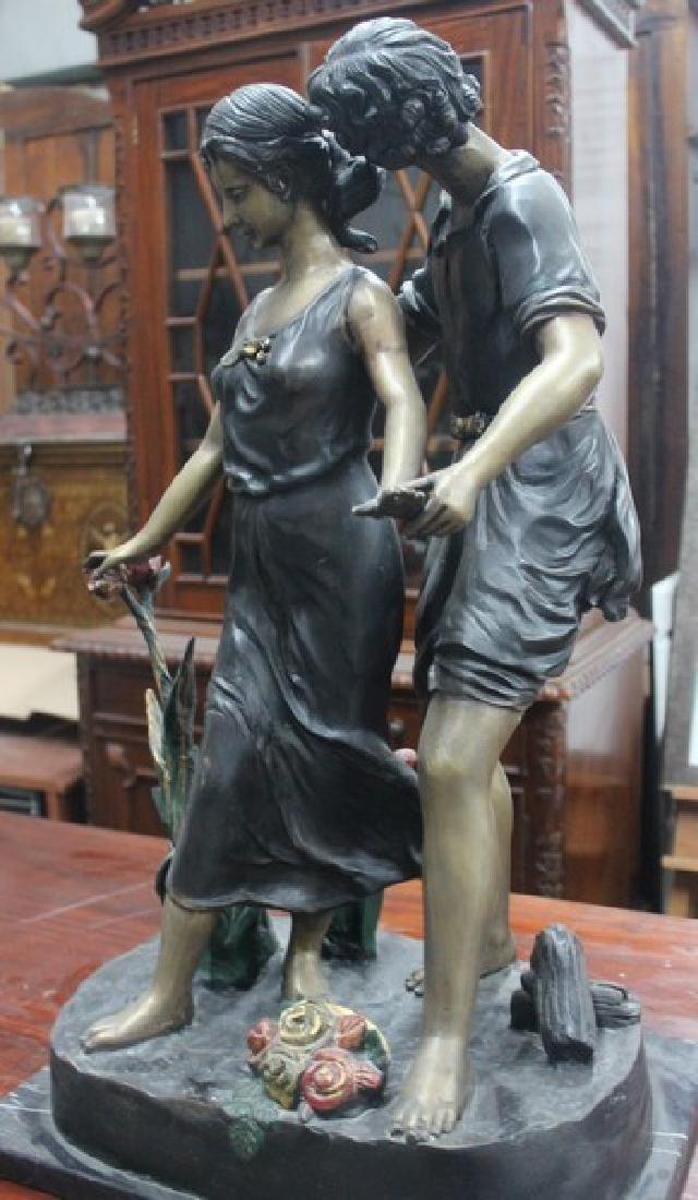 Walk in the Park - Bronze Sculpture - 2