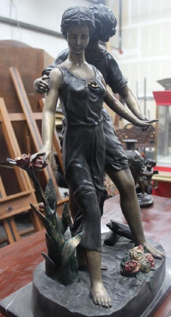 Walk in the Park - Bronze Sculpture - 3