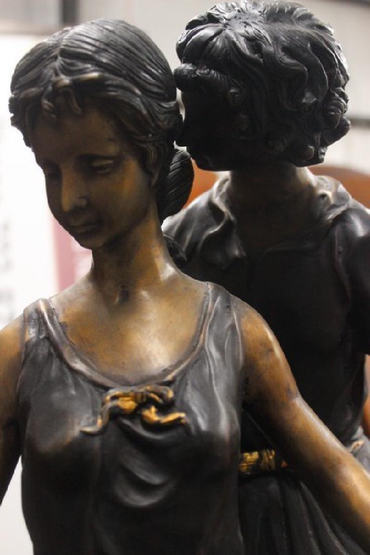 Walk in the Park - Bronze Sculpture - 4