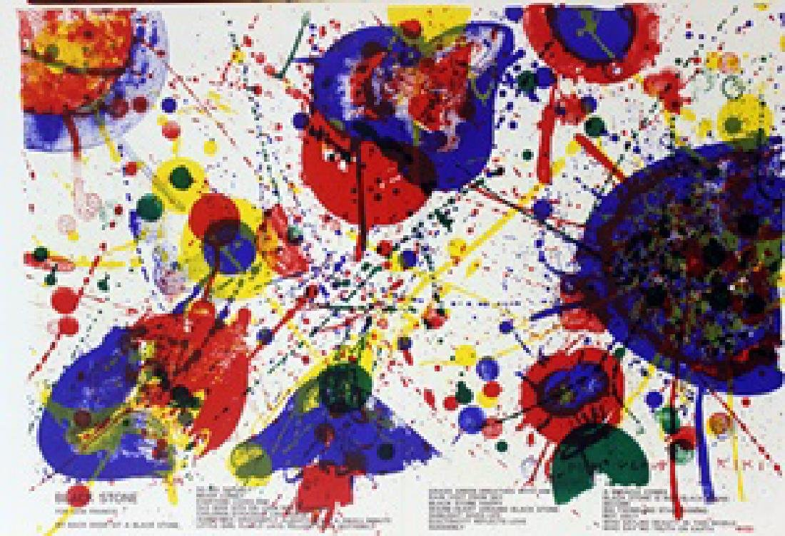 Original Lithographs Sam Francis & Karel Appel - 2