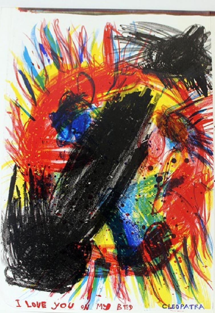 Original Lithographs Sam Francis & Karel Appel - 4