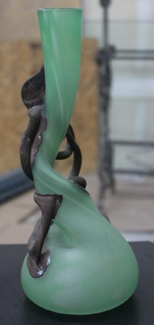 Hand Blown Glass Vase - 2