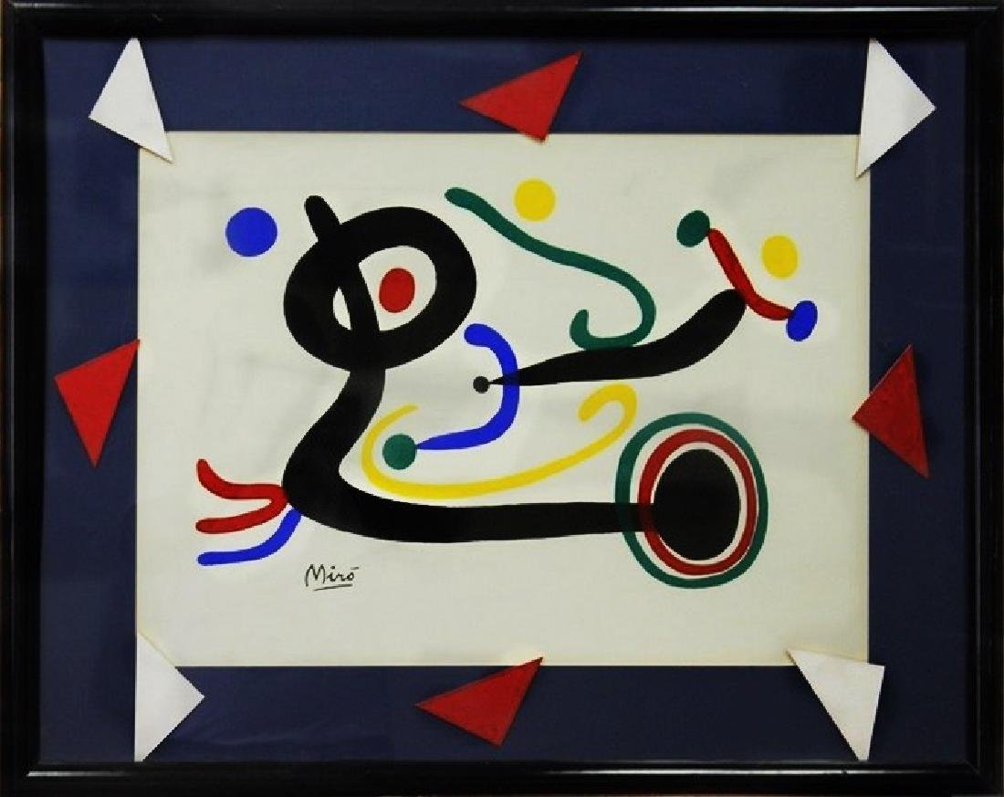 Composition - Lithograph - Joan Miro