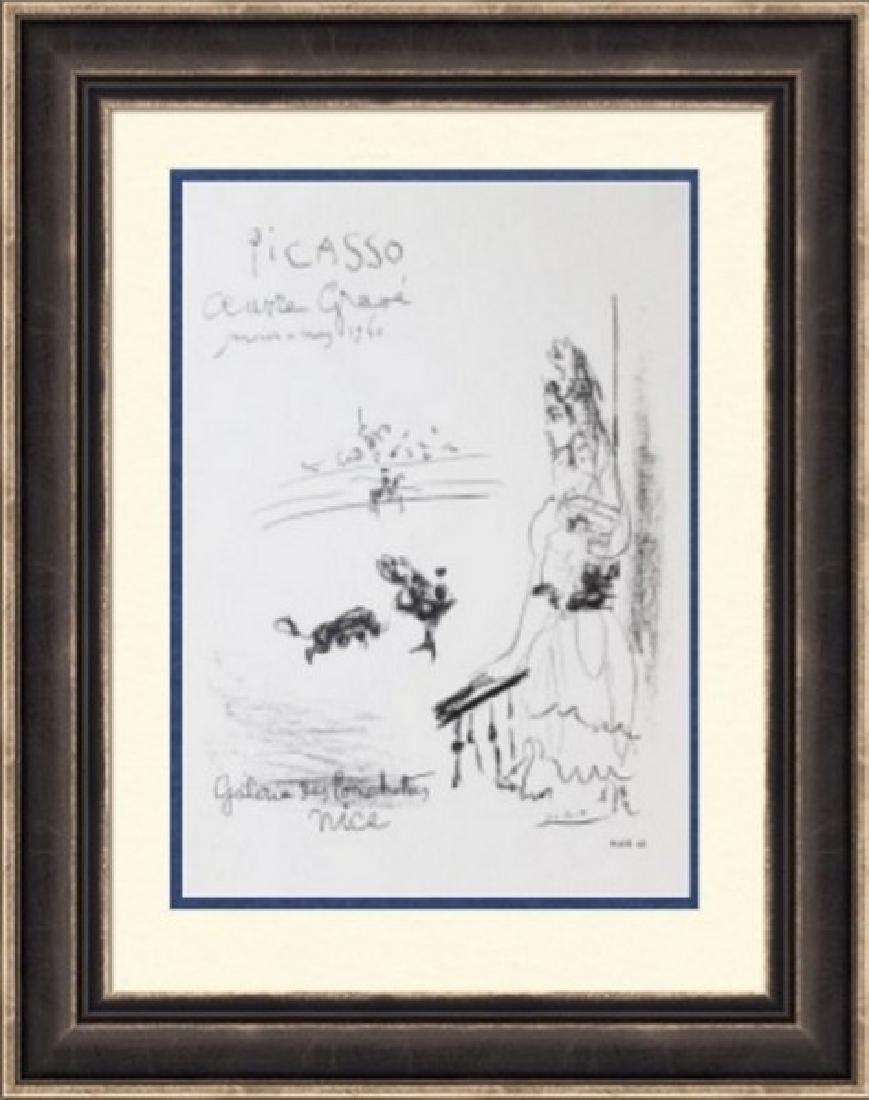 Lithograph Pablo Picasso Galerie des Ponchettes 1960