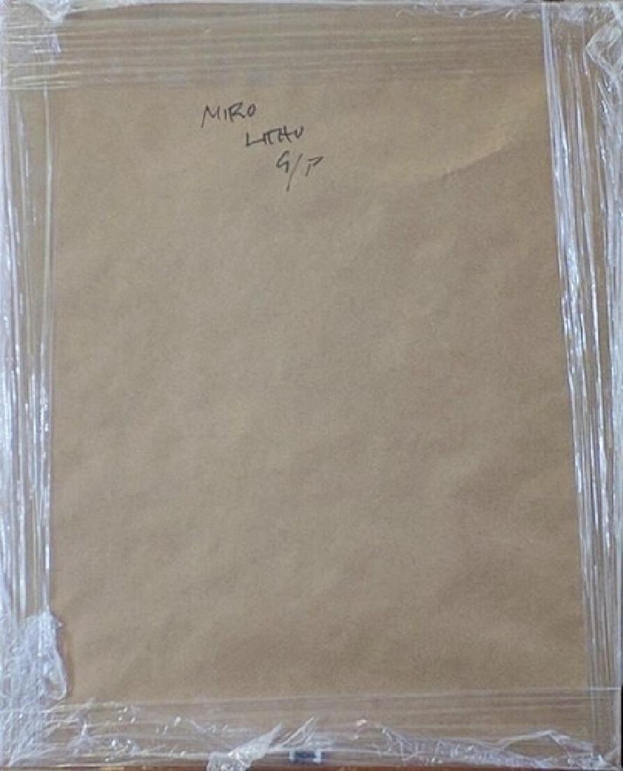 Lithograph - Joan Miro - 3