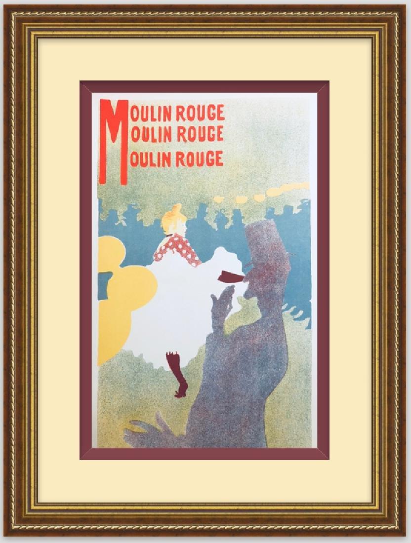 """Lithograph """" MOULIN ROUGE"""", 1899 by Henri de"""