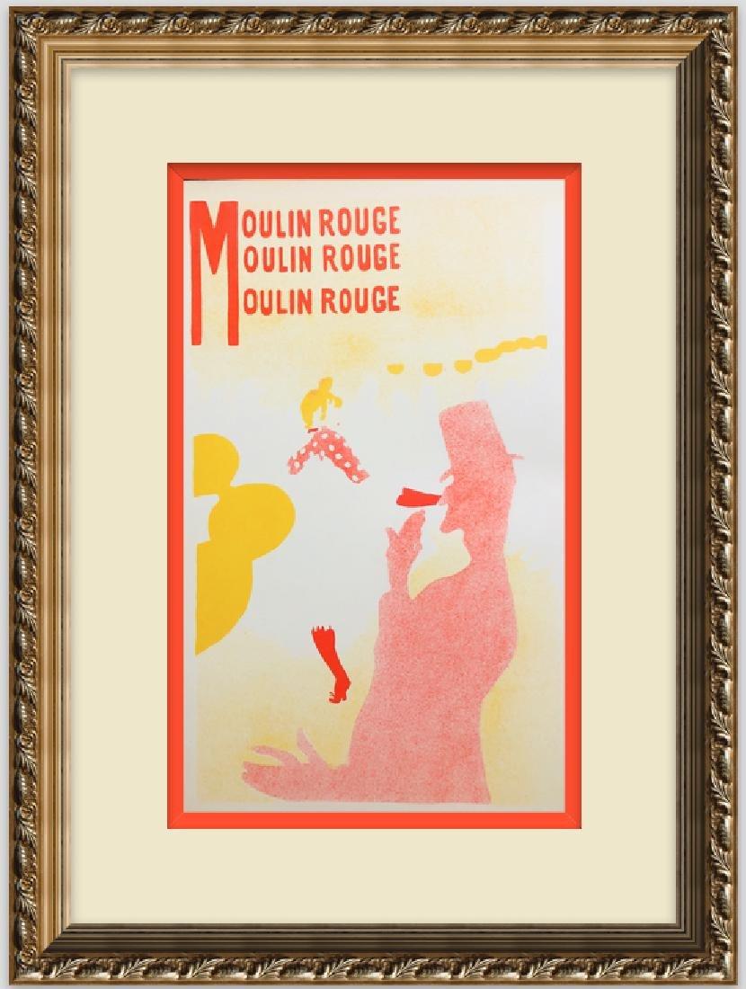 """Lithograph """" MOULIN ROUGE-2"""", 1899 by Henri de"""