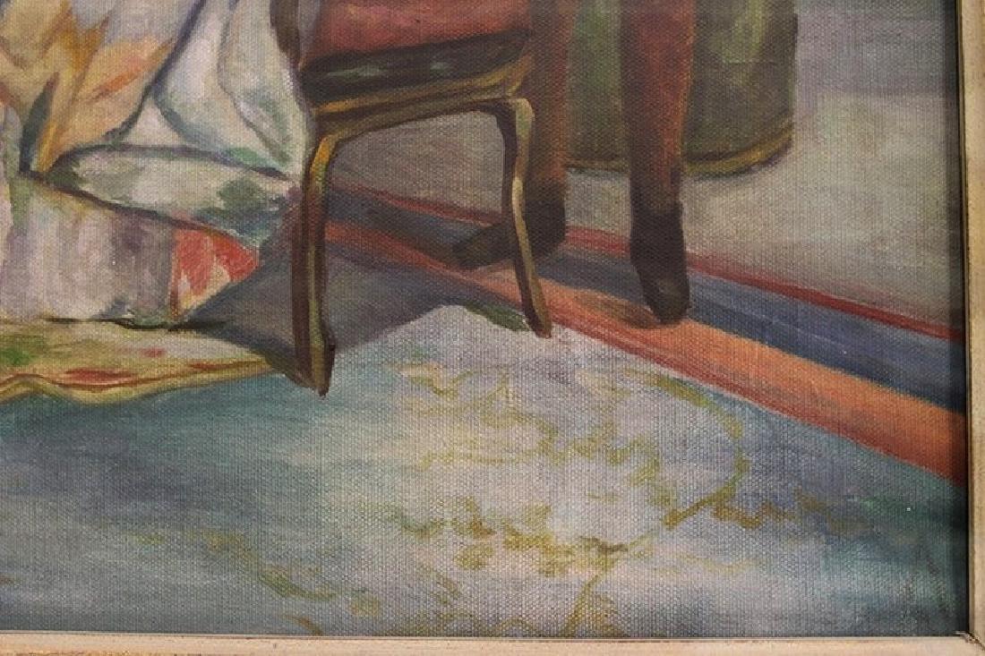 Original Oil Painting - The Argument - 2