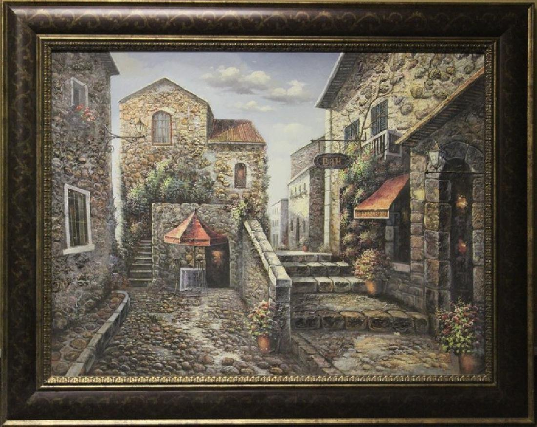 Original Oil Painting (Barcelona)