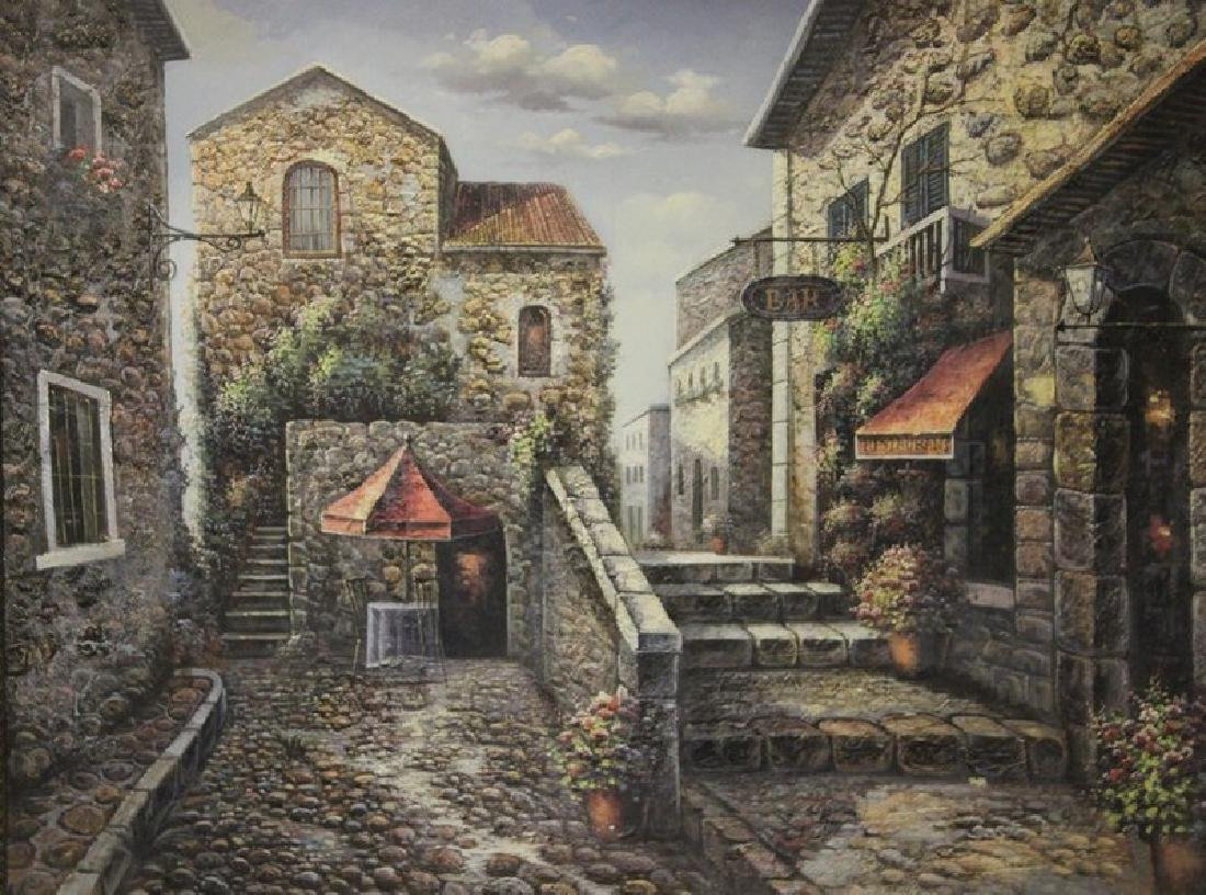Original Oil Painting (Barcelona) - 2