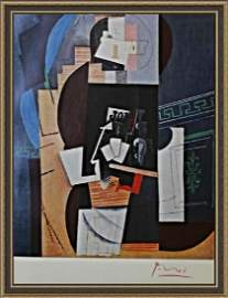 The Card Player 1913-14  - Pablo Picasso