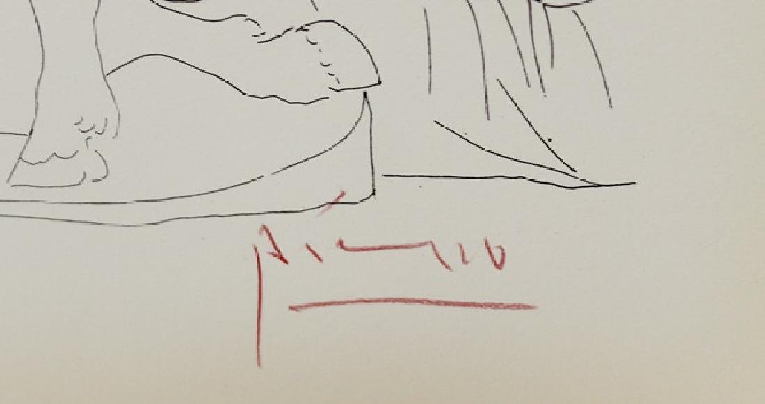 Lithograph Pablo Picasso Frederuc Jolist Curie, Plate - 3