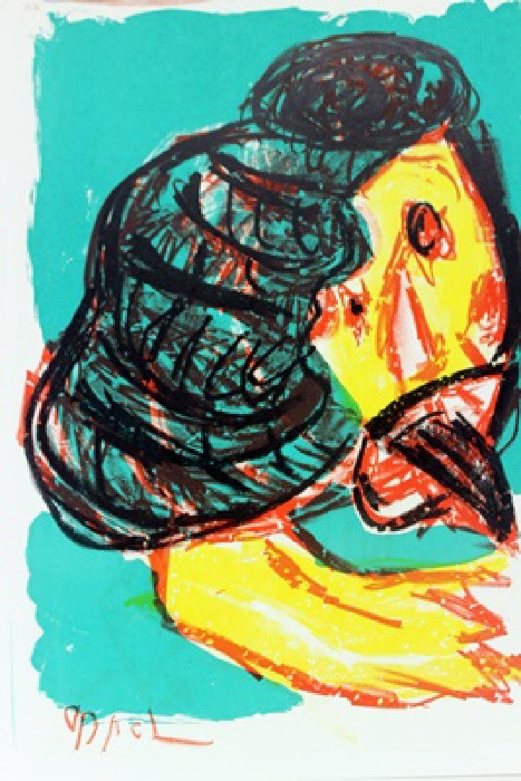 Original Signed Lithograph Karel Appel - 2