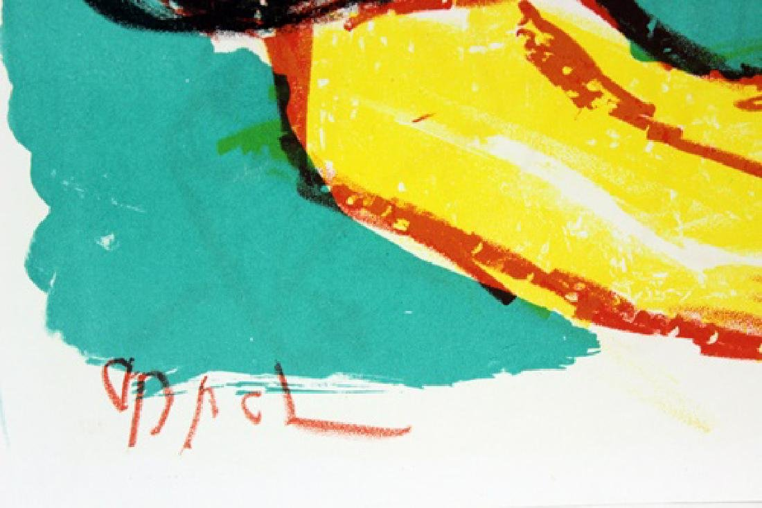 Original Signed Lithograph Karel Appel - 3