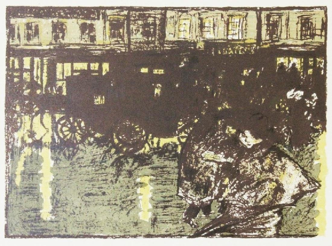 Rue, le Soir, Sous la Pluie - P. Bonnard - 2