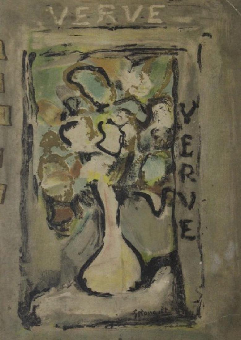 "Lithograph ""La Farine Caribbean""- Joan Miro"