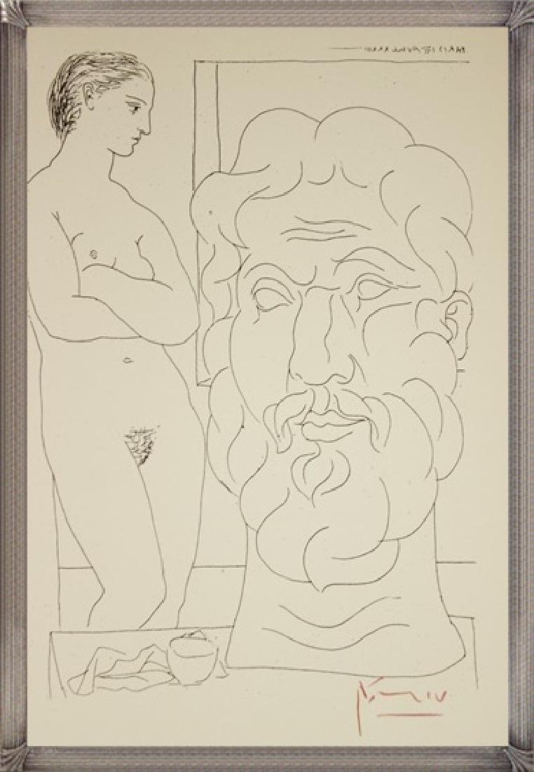 Etching Pablo Picasso, The Vollard Suite