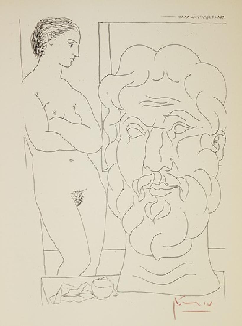 Etching Pablo Picasso, The Vollard Suite - 2