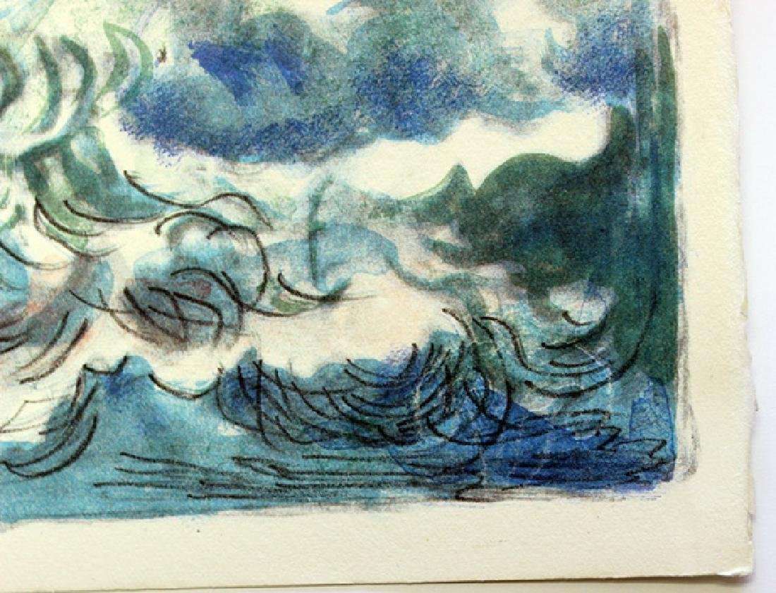 Signed Lithograph by Hermine David - 4