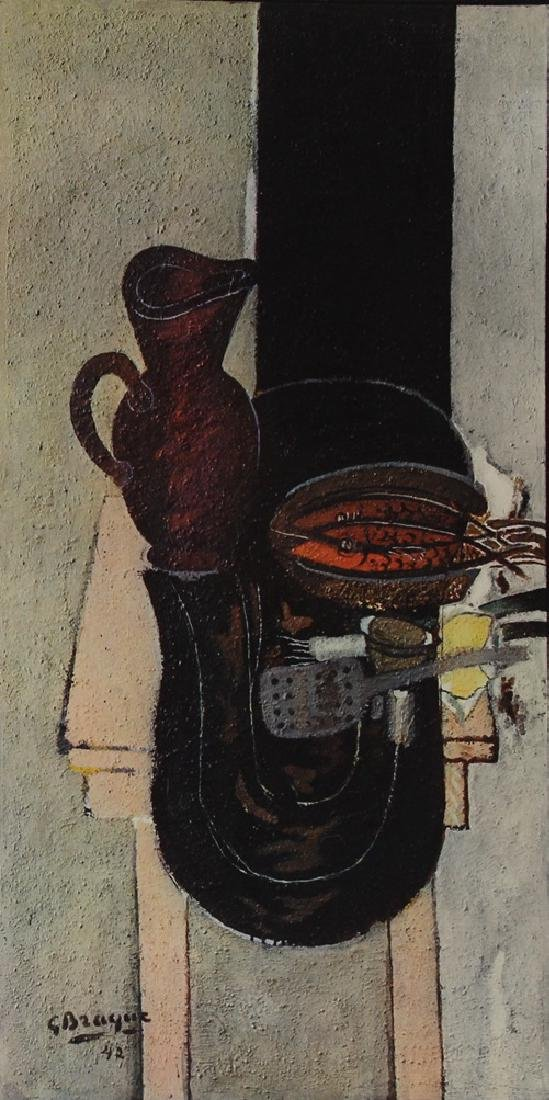 Still Life w/ Pitcher - Georges Braque - 2