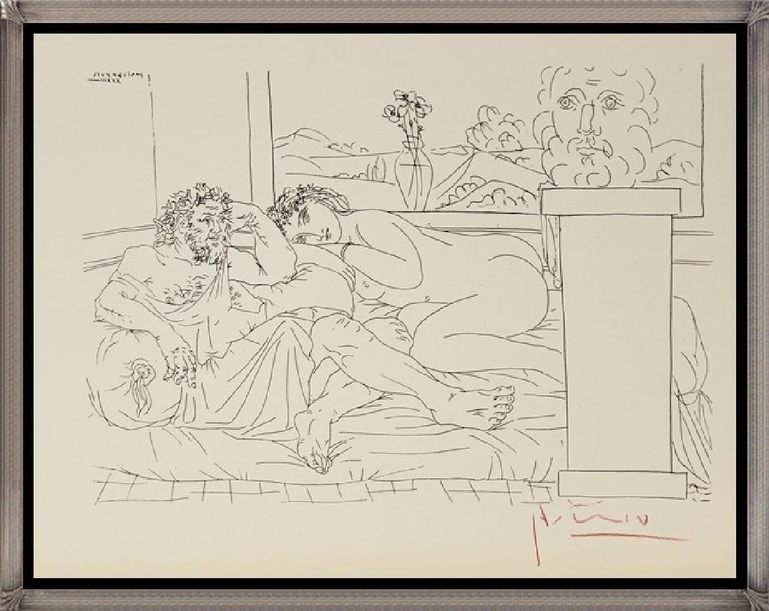 Etching Pablo Picasso, The Vollard Suite