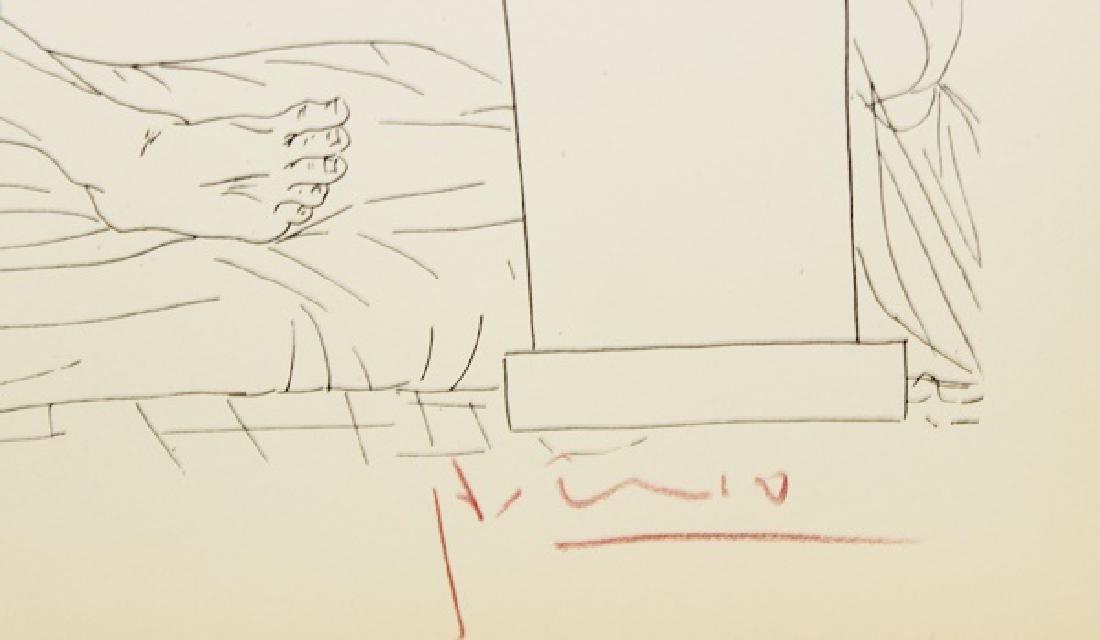 Etching Pablo Picasso, The Vollard Suite - 2