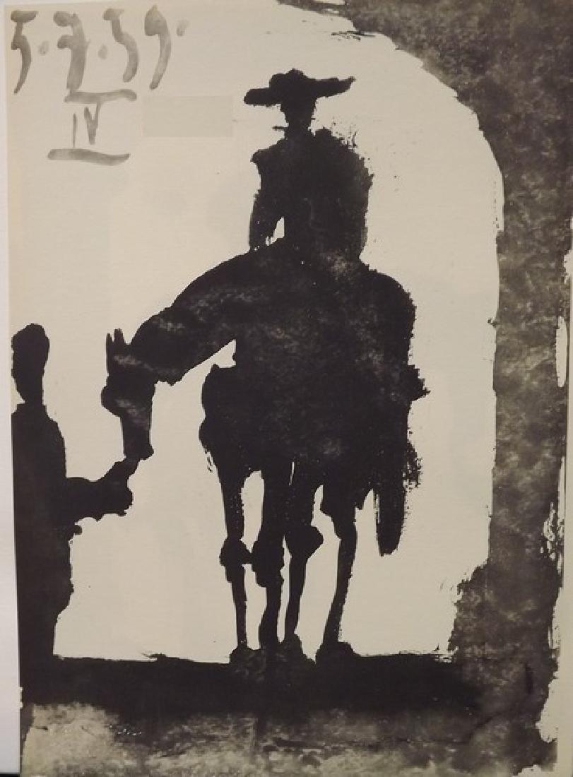 Toros y Toreros (7a) - Picasso 1959' - 2