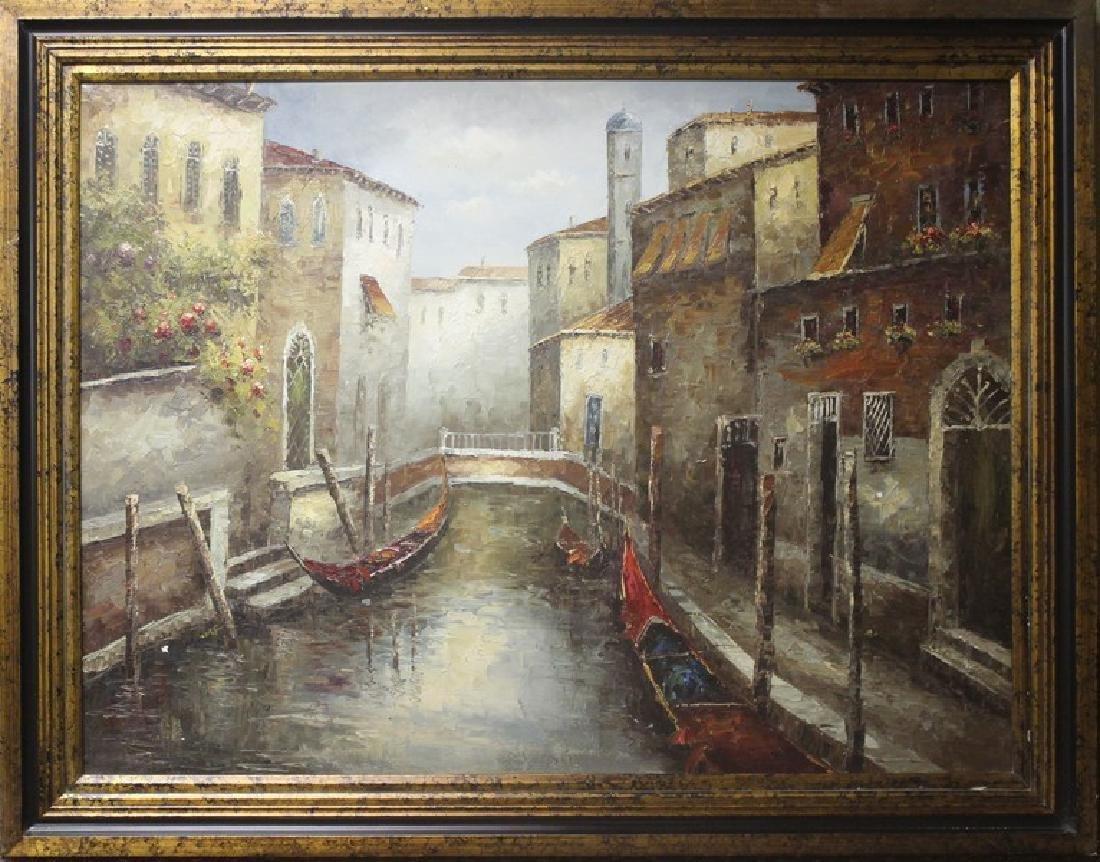 Venice - Original Oil Painting - 2
