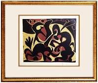 Signed Picasso ORIGINAL Linocut