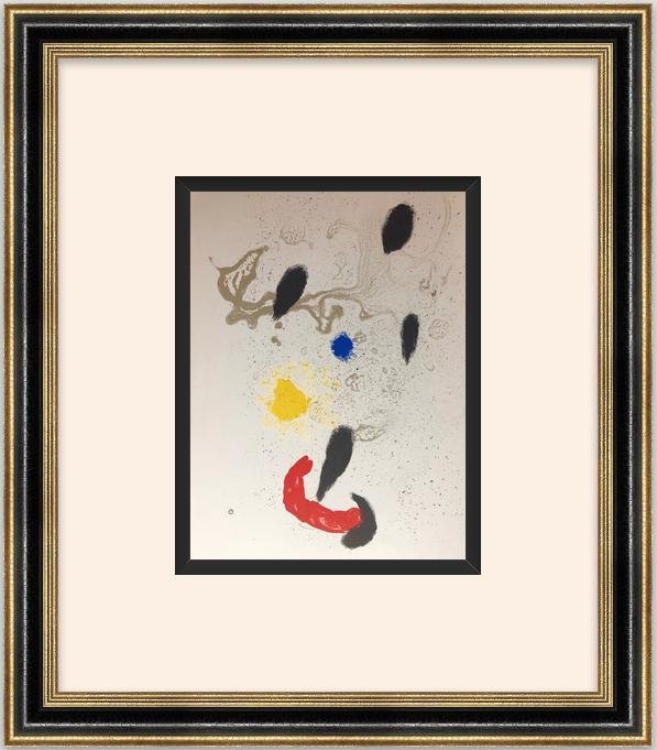 "Original Lithograph""Moderness Catalans""- Joan Miro"
