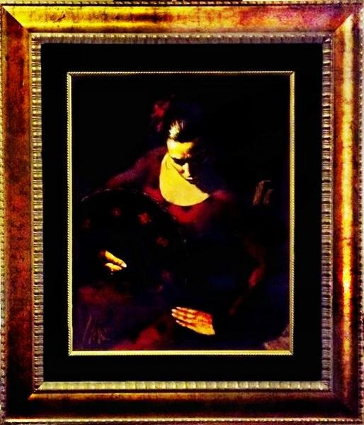 Isabella - Painting by Fabian Perez