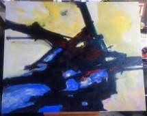 """ 407"" Original Michael Schofield 48x60"