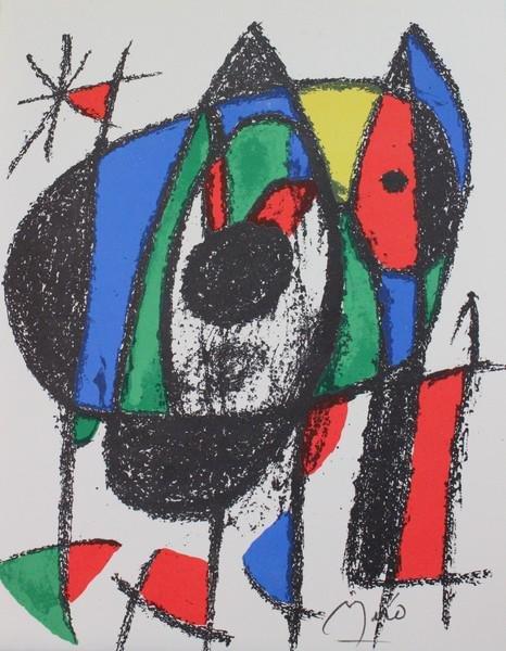 Signed Joan Miro Lithograph